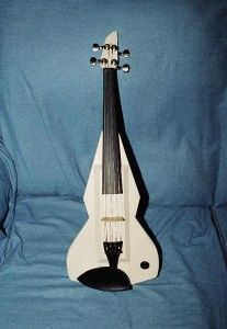 Solid body electric violin