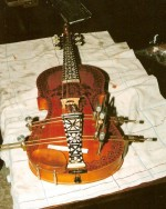 Harding Fiddle before restoration